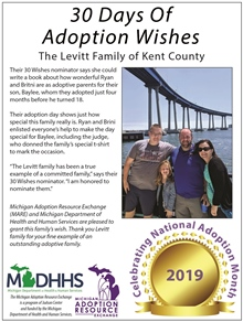 Outstanding Adoptive Families 2019